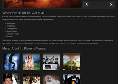 Mural Artist 4u - Website